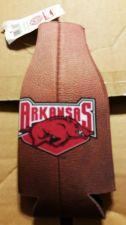Buy (2) Arkansas Razorbacks Football Zipper Bottle Koozies (405)