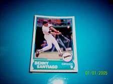Buy 1988 Score Young Superstars series 1 baseball card benny santiago #2 FREE SHIP