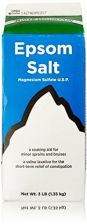 Buy White Mountain Epsom Salt Magnesium Sulfate Soaking Solution, 3 Lb