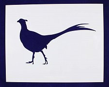 Buy Pheasant Stencil -Large-Standing-14 Mil Mylar- Painting/Crafts/Template