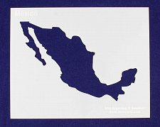 Buy Country of Mexico Stencil -14 mil Mylar Painting/Crafts