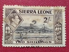 Buy Sierra leone stamp used 1v 1938 used Freetown from Harbour
