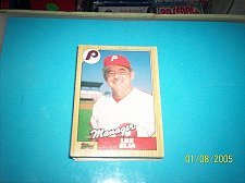 Buy 1987 Topps Traded Baseball LEE ELIA PHILLIES #32T FREE SHIPPING
