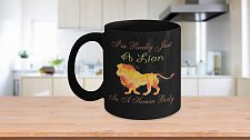 Buy I'm Really Just A Lion Trapped In A Human Body Coffee Mug
