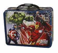 Buy :10339U - Avengers Assemble Dark Blue Tin Lunch Box