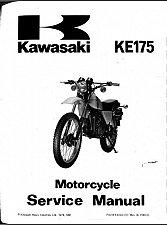 Buy 1979-1983 Kawasaki KE175 Service Repair Workshop Manual CD ... KE 175