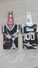 Buy (2) New England Patriots Camo Bottle Jersey Koozies (400)