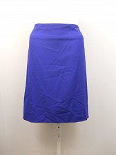 Buy PLUS SIZE 22W 24W Womens Pencil Skirt ALFANI Solid Havana Blue Knee Length Back