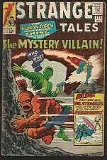 Buy Strange Tales #127 DR. STRANGE Marvel Comics DITKO 1964 Thing & Torch