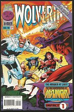 Buy WOLVERINE #104 Marvel Comics 1996 Onslaught Begins 1stLongSeriesDIRECT Impact 1