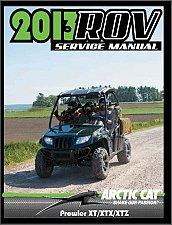Buy 2007-2015 Arctic Cat PROWLER XT / XTX / XTZ Service Repair Workshop Manual CD