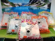 Buy McDonald Dog 6 Psc 6 Style 1 Set Collection about Fully NEW Rare,free shipping