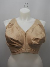 Buy BRA 56F Women Posture Bra Full Coverage Solid Beige Wire Free Front Closure Adju