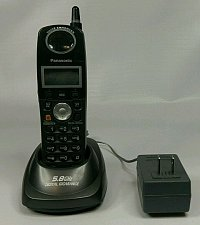 Buy Panasonic KX TGA560B Handset remote base wP charger stand cradle phone satellite
