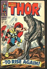 Buy THOR #151 Stan Lee Jack Kirby DESTROYER 1968