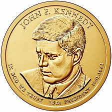 Buy 2015-D JOHN F. KENNEDY PRESIDENTIAL DOLLAR COIN -UNCIRCULATED From mint roll