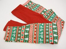Buy SIZE M Womens 2PK CHRISTMAS TREE Fleece Lined Leggings NO BOUNDARIES Skinny