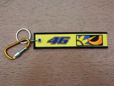 Buy 1 Embroidered Fabric Strap 46 Keychain Keyring Key Holder Tag Motorcycle