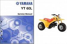 Buy 1984-1985 Yamaha YT60L Tri-Zinger Service Manual on a CD --- YT 60 YT60 L 60L