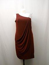 Buy Womens Formal Bodycon Dress Size 16 KARINA Eggplant Asymmetrical Neck Jeweled