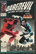 Buy DAREDEVIL #257 PUNISHER VF/NM or better 1st Print High Grade Marvel Comics 1988
