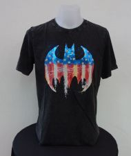 Buy Batman Black Lefroy Cotton T-Shirt Super Hero Dccomics,Warner Bros. Size XL 012