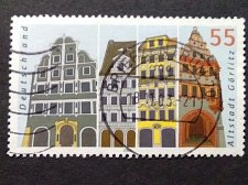 Buy Germany used 1v SG3232, 55c BUILDING FACADS, ALTSTADT GORLITZ,