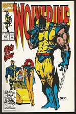 Buy WOLVERINE #65 Marvel Comics 1993 DIRECT Edition 1st Long Series VF+/NM- TEX