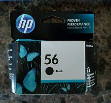 Buy FACTORY SEALED - 56 BLACK ink jet HP PhotoSmart 7550 7450 7350 7260 printer