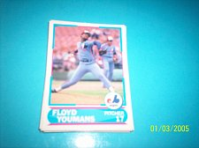 Buy 1988 Score Young Superstars series 11 baseball FLOYD YOUMANS #16 FREE SHIP