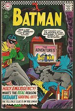 Buy BATMAN #183 DC COMICS 1966 Silver Age Comic