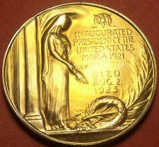 Buy Gem Unc Warren G. Harding Presidential Bronze Inauguration Medallion~Free Ship