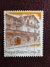 Buy Andorra Spanish 1v used stamp1990 Michel 217 Tourism
