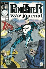 Buy PUNISHER WAR JOURNAL #1 NM- range 1st series Marvel Comics 1988 J. Lee, Potts