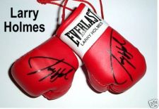 Buy Autographed Mini Boxing Gloves Larry Holmes