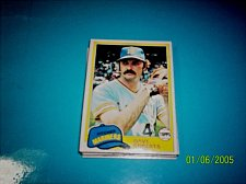 Buy 1981 Topps BASEBALL CARD OF DAVE ROBERTS #57 MINT FREE SHIPPING