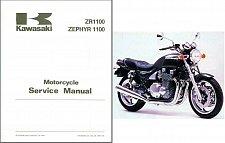 Buy 92-93 Kawasaki Zephyr 1100 / ZR1100 Service Repair Workshop Manual CD -- ZR