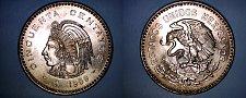 Buy 1959 Mexican 50 Centavo World Coin - Mexico