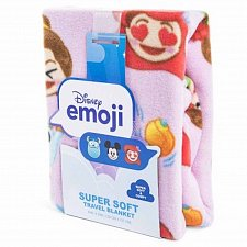 Buy Disney Emoji Super Soft Travel Blanket