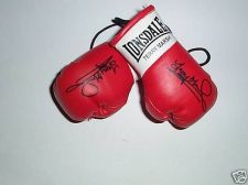 Buy Autographed Mini Boxing Gloves Terry Marsh