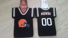Buy (2) Cleveland Browns Bottle Jersey Koozies NEW (405)