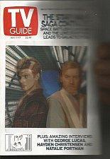 Buy TV Guide Star Wars great Hologram Cover See Darth Vader & Ben Kenobi change form