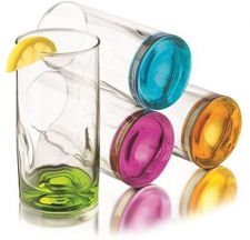 Buy Libbey Impressions Colors Cooler Glass Set, 4-Piece