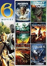 Buy 6movie color DVD Merlin War Dragons,Journey Center Earth,BEASTMASTER,DRAGONQUEST