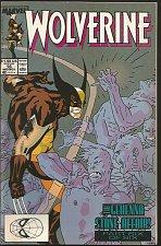 Buy LOGAN, Wolverine #16 Marvel Comics VF+/NM- Peter David /Buscema /Sienkiewicz1989
