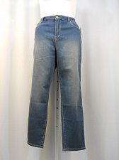 Buy Womens Denim Jeans Size 18S STYLE&CO Blue Stonewashed Curvy Skinny Leg Mid Rise