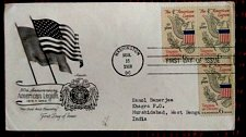 Buy usa fdc Commercially used 50th Anniversary AMERICAN LEGION