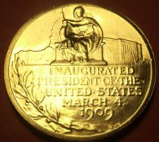 Buy Gem Unc William H. Taft Presidential Bronze Inauguration Medallion~Free Shipping