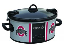 Buy NCAA Ohio State Buckeyes Crock Pot Cook And Carry Slow Cooker 6 Quart