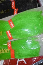Buy 6 packs of Kanekalon Braid Hair 2 Packs Green and 4 Packs 1B Kanekalon